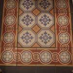 reusing salvaged historic tiles - 1190 Vienna