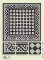 historic tile reproduction - Vienna Collection BDG2