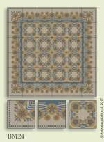 historic tile reproduction - Vienna Collection BM24