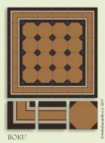 historic tile reproduction - Vienna Collection BOKU