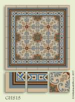 historic tile reproduction - Vienna Collection GHS15