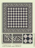 historic tile reproduction - Vienna Collection GSTG4A