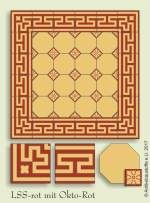 historic tile reproduction - Vienna Collection LSS-OKTO-ROT