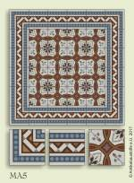 historic tile reproduction - Vienna Collection MA5