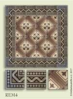 historic tile reproduction - Vienna Collection REM4