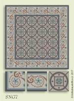 historic tile reproduction - Vienna Collection SNG7
