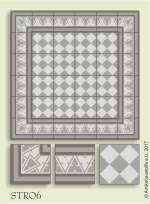 historic tile reproduction - Vienna Collection STRO6