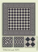 historic tile reproduction - Vienna Collection THG14