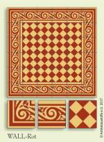historic tile reproduction - Vienna Collection WALL-ROT