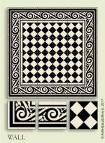 historic tile reproduction - Vienna Collection WALL